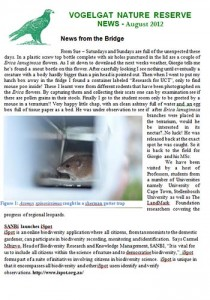 Vogelgat_private_nature_reserve_Newsletter_Aug2012