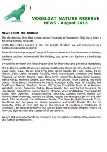 Vogelgat_private_nature_reserve_Newsletter_Aug2013