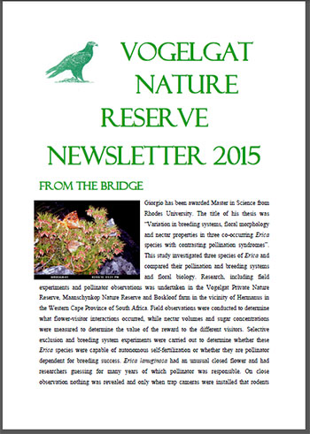Vogelgat_private_nature_reserve_Newsletter_Aug2014